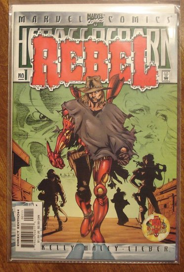 Heroes Reborn: Rebel #1 comic book - Marvel comics