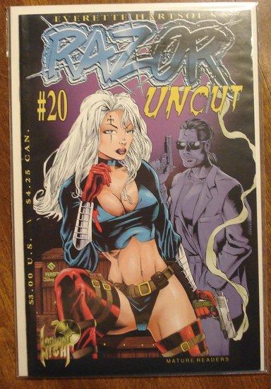 Razor Uncut #20 comic book - London Night comics - adults only!