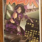 Razor Uncut #19 comic book - London Night comics - adults only!