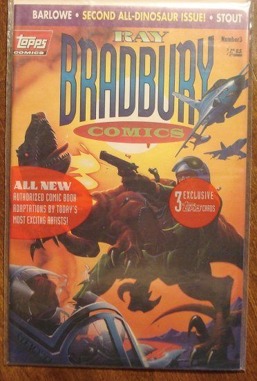 Ray Bradbury Comics #3 comic book  - Topps Comics