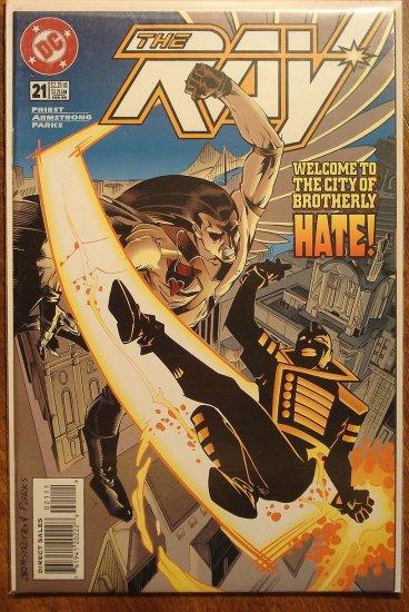 The Ray #21 comic book  - DC Comics