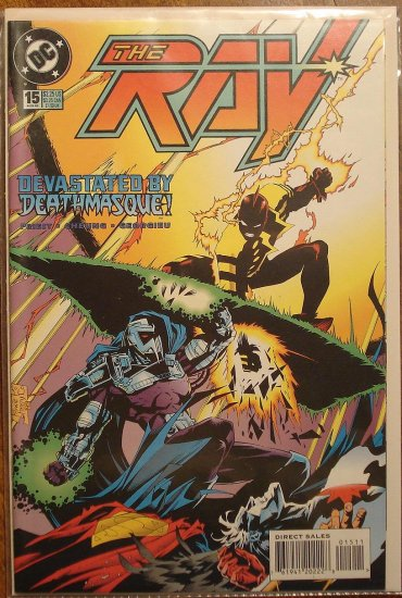 The Ray #15 comic book  - DC Comics