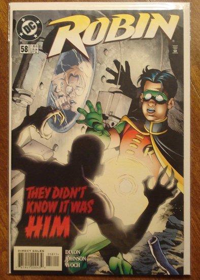 Robin #58 comic book - DC Comics