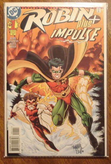 Robin Plus Impulse #1 comic book - DC Comics