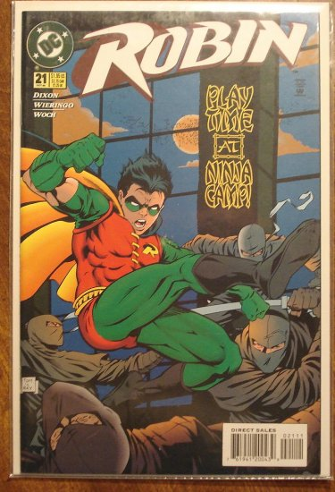 Robin #21 comic book - DC Comics