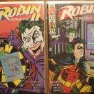 Robin II #2 (BOTH COVERS) comic book - DC Comics