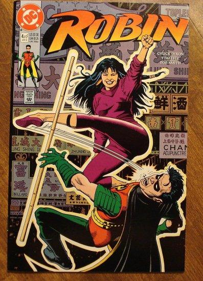 Robin #4 (1991 mini-series) comic book - DC Comics