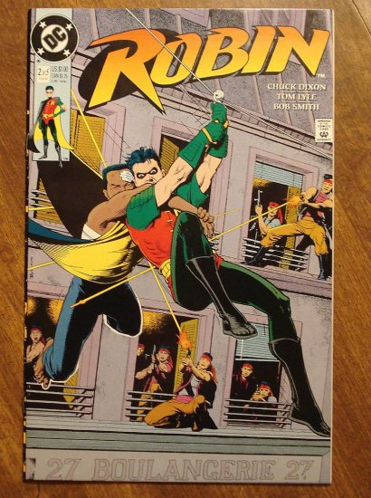 Robin #2 (1991 mini-series) comic book - DC Comics