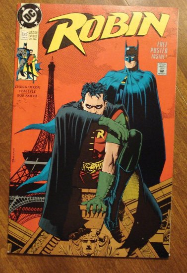 Robin #1 (1991 mini-series) comic book - DC Comics