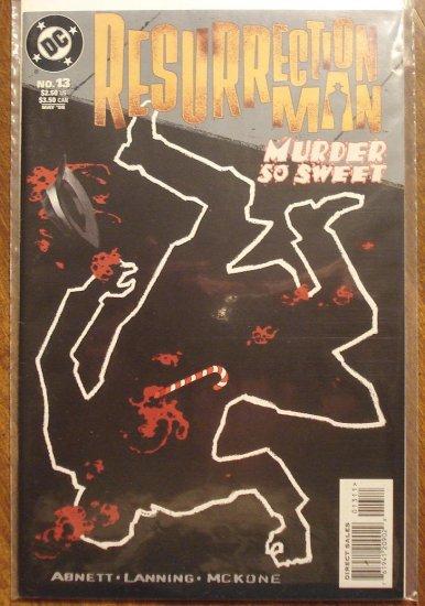 Resurrection Man #13 comic book - DC Comics