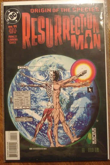 Resurrection Man #11 comic book - DC Comics