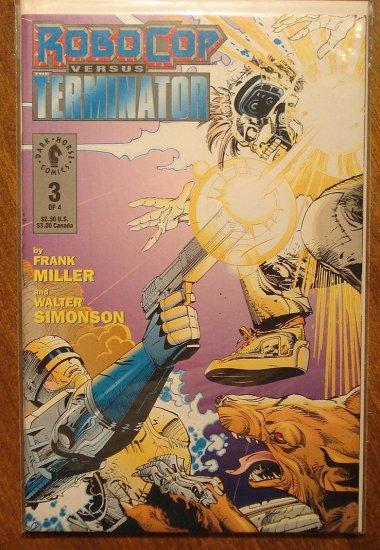 RoboCop vs the Terminator #3 comic book - Dark Horse Comics