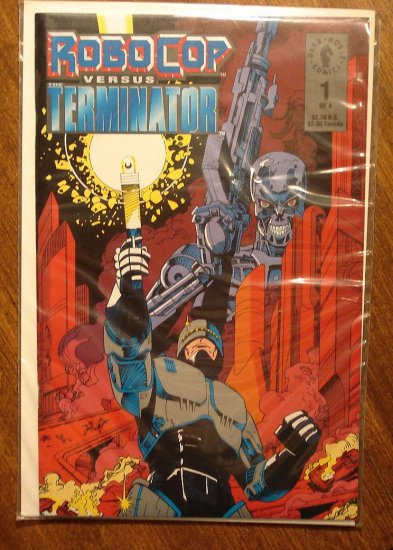 RoboCop vs the Terminator #1 comic book - Dark Horse Comics