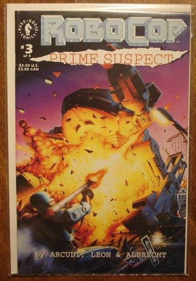 RoboCop: Prime Suspect #3 comic book - Dark Horse Comics