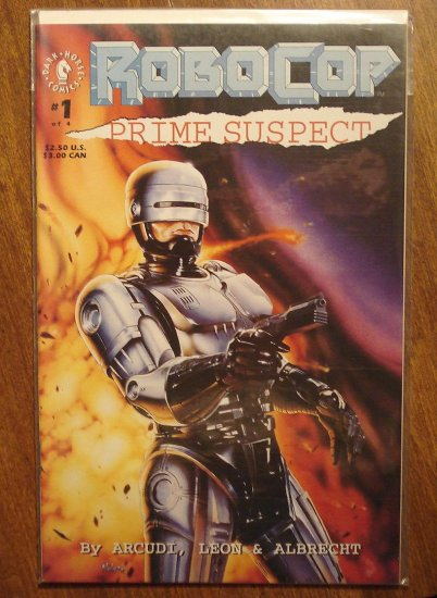 RoboCop: Prime Suspect #1 comic book - Dark Horse Comics