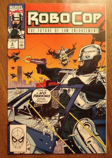 RoboCop #8 comic book - Marvel Comics