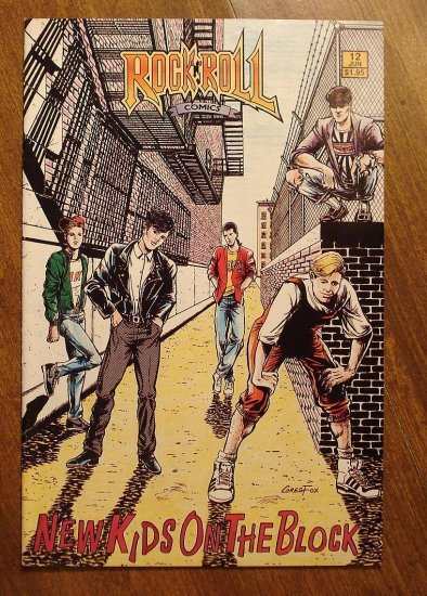 Rock n' Roll Comics #12 - The New Kids on the Block comic book - Revolutionary Comics