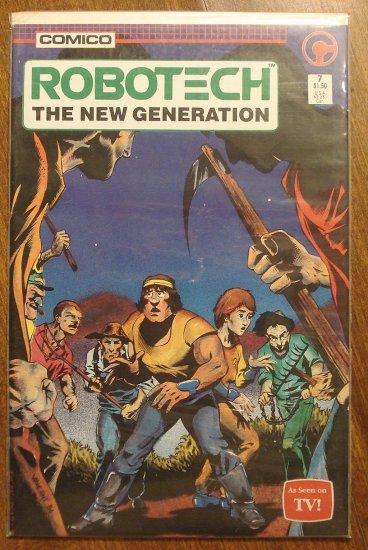 Robotech: The New Generation #7 comic book - Comico Comics