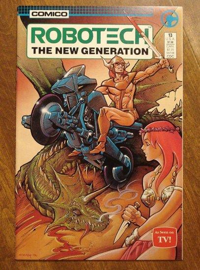 Robotech: The New Generation #13 comic book - Comico Comics