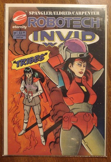 Robotech: Invid War #17 comic book - Eternity Comics