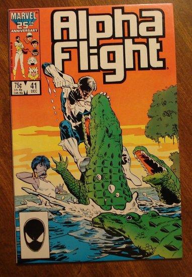 Alpha Flight #41 comic book - Marvel Comics