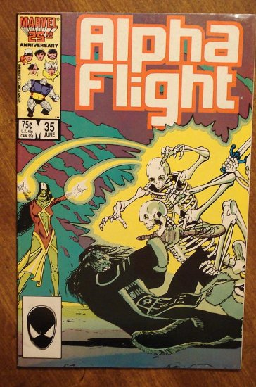 Alpha Flight #35 comic book - Marvel Comics