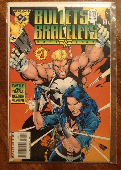 Bullets & Bracelets #1 comic book - Amalgam Comics - DC & Marvel