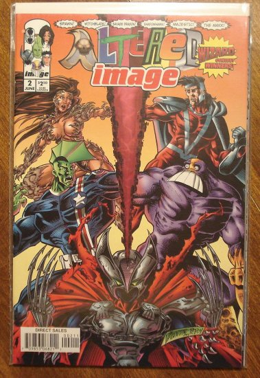 Altered Image #2 comic book - Image Comics
