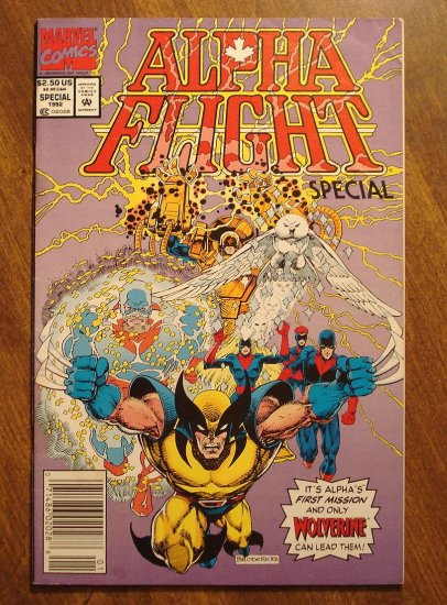 Alpha Flight Special (1992) comic book - Marvel Comics