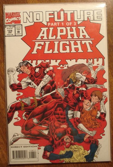 Alpha Flight #128 comic book - Marvel Comics
