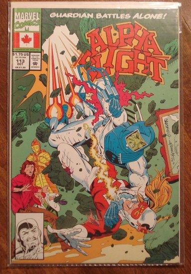 Alpha Flight #113 comic book - Marvel Comics