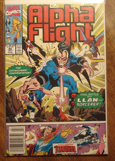 Alpha Flight #86 comic book - Marvel Comics