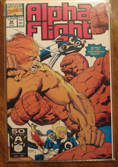 Alpha Flight #94 comic book - Marvel Comics