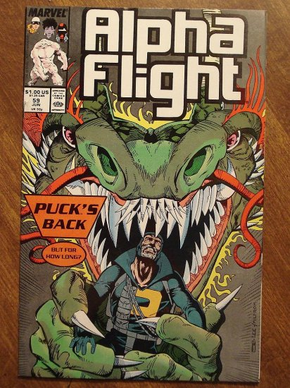 Alpha Flight #59 comic book - Marvel Comics