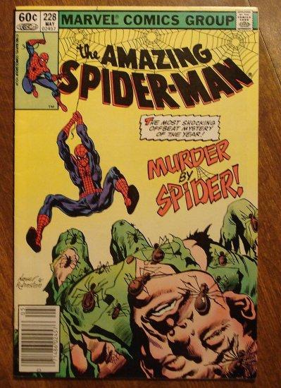 Amazing Spider-Man #228 (Spiderman) comic book - Marvel Comics