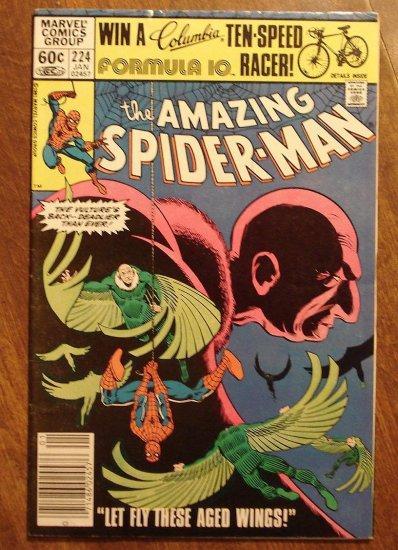 Amazing Spider-Man #224 (Spiderman) comic book - Marvel Comics