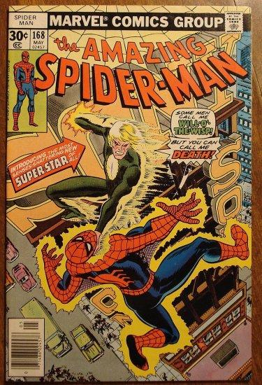 Amazing Spider-Man #168 (Spiderman) F+ comic book - Marvel Comics