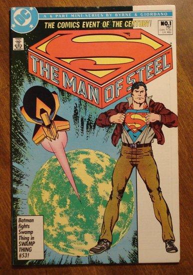 Man of Steel #1 comic book - DC Comics, NM/M, John Byrne, Regular cover, Superman