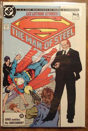 Man of Steel #4 comic book - DC Comics, NM/M, John Byrne, Superman
