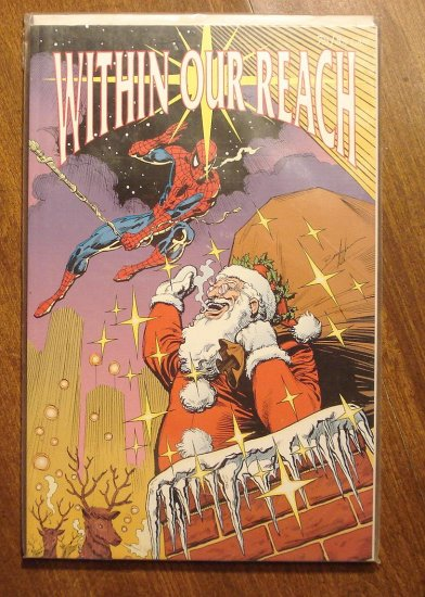 Within Our Reach Christmas story collection comic book TPK starring Spider-Man, NM/M