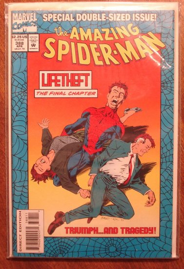 Amazing Spider-Man #388 (Spiderman) comic book - Marvel Comics