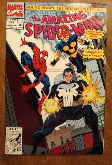Amazing Spider-Man #357 (Spiderman) comic book - Marvel Comics