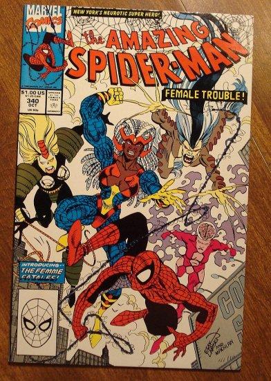 Amazing Spider-Man #340 (Spiderman) comic book - Marvel Comics