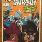 Avengers West Coast #98 comic book - Marvel Comics