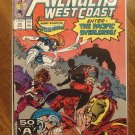 Avengers West Coast #70 comic book - Marvel Comics