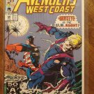 Avengers West Coast #69 comic book - Marvel Comics