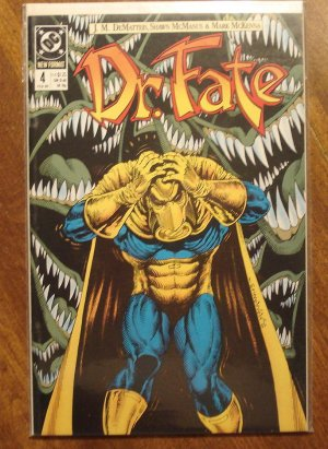 Dr. Fate #4 (1980's) comic book - DC Comics (Doctor Fate)