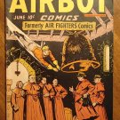 Airboy Comics V3, #5 1946 comic book (Formally Air Fighters), VG- condition, Hillman Comics