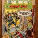 Judge Dredd's Crime File #6 comic book - Eagle Comics