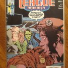 JLA - Justice League America #51 (1980's series) comic book - DC Comics